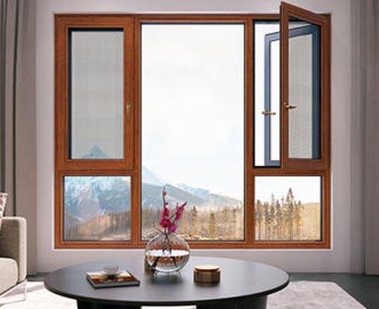 D120隔热纱窗一体系列